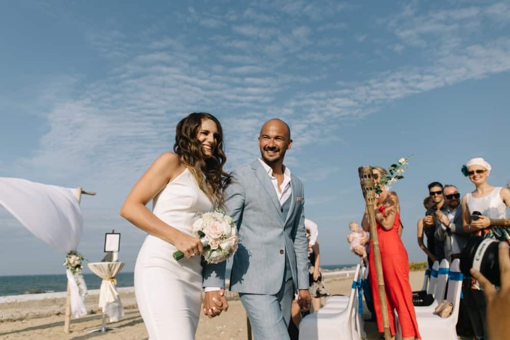 Vietnam beach wedding